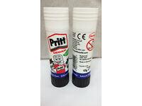 Pritt Stick 43g Glue Stick, x20, washable, solvent free, non-toxic, FREE P&P