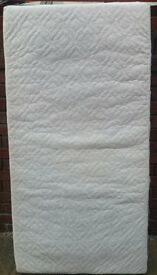 cot mattress. 140 x 70cm. In very good condition