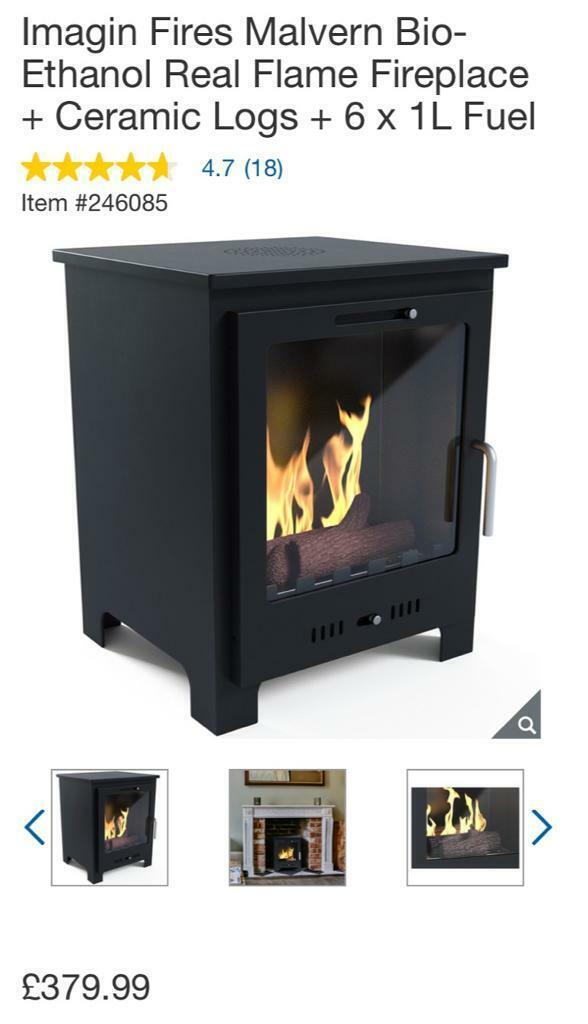 Superb Imagin Fires Malvern Bio Ethanol Real Flame Fireplace Ceramic Logs 20 X 1 Litre Fuel In Arbroath Angus Gumtree Download Free Architecture Designs Scobabritishbridgeorg