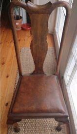 Elegant Edwardian Wooden Chair REDUCED!!