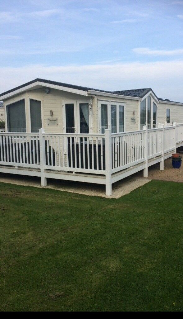 An Amazing Willerby Vision Static Caravan 43ft x 13ft like new at Fargrange 5* park.