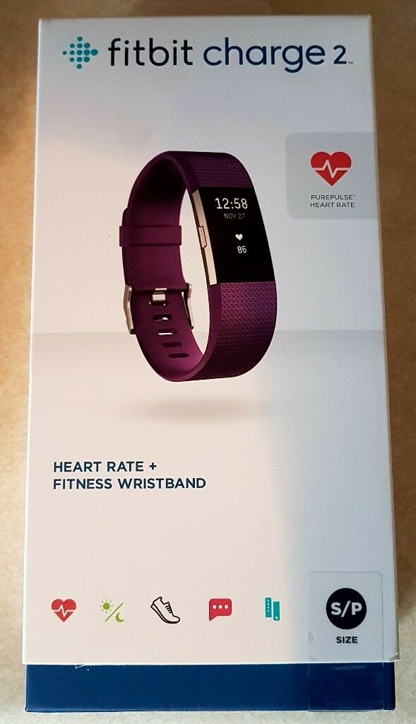 Fitbit Charge 2 new sealed box