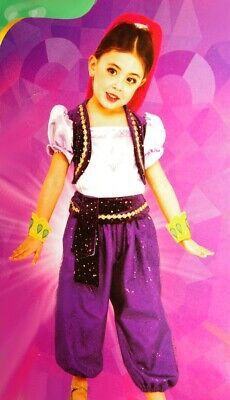 Girls Toddler SHIMMER & SHINE Genie Halloween Costume Purim Headpiece 2T NEW](Genie Headpiece)