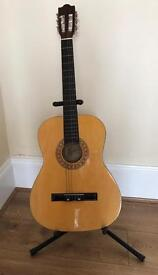 Acoustic guitar for a child