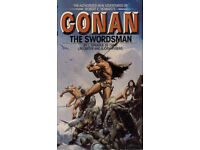 Conan the Barbarian Novels collection on 1 Digital DVD disc in 3 formats (epub,mobi and Kindle)