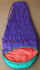 Sleeping bag - Vango 3 Nitestar (left hand zip)