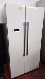 KENWOOD KFF2DW14 American-Style Fridge Freezer - A+, 502 litres, White