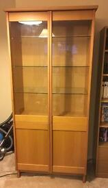 Shelves - display cabinet