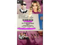 Beyoncé and Jay Z tickets - pitch standing at Hampden Park Glasgow Saturday 9th June