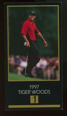 1997 Grand Slam Ventures Champions Of Golf Tiger Woods RC Rookie