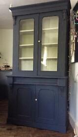 Vintage dresser bookcase cabinet