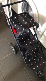 Mamas & papas toy pushchair