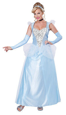 Disney Classic Cinderella Princess Adult Women Costume - Cinderella Costumes For Women