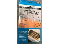 WINE GLASS DRYING RACK NEW BOXED