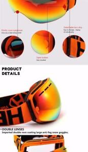 I Need That ! Ski Goggles Double Lens UV400 Anti-fog Free Shipping