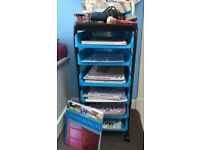 Crafting trolley and craft supplies – massive job lot