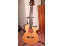Crafter Travel Guitar TVR 23 N (As New Condition)