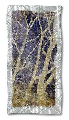 Abstract Tree Metal Wall Art Modern Home ...