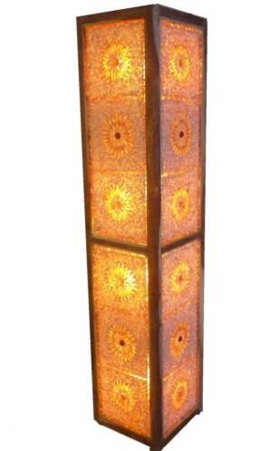 Super ≥ Kleurrijke vloerlampen oosterse sfeer staande lamp mozaiek &KB47