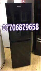 Black fridge freezer 4ft can deliver