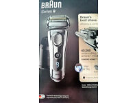 New & sealed Braun Series 9 9296cc Men's Electric Shaver