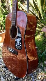 Fender acoustic plays perfect mahogany swap ??