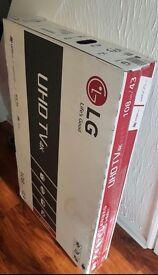 """BRAND NEW LG 43"""" 4K HDR TV"""
