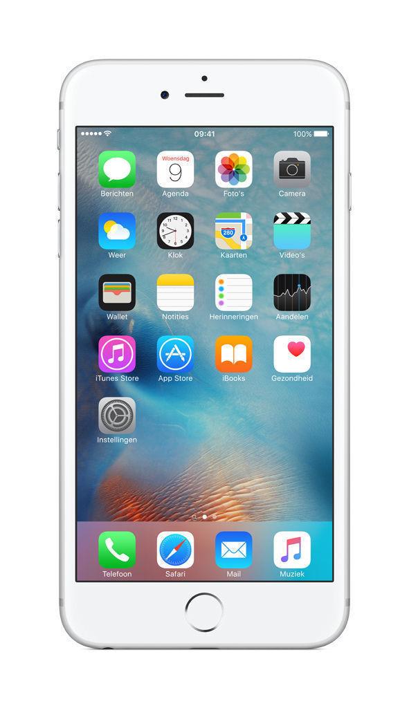 Apple iPhone 6 Plus - 128GB - Silver (Unlocked) A1522 (GSM)