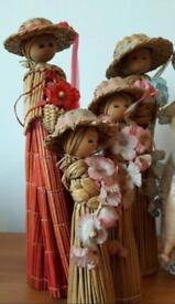 Vintage corn dolls