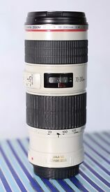 Canon 70-200 f/4 L IS USM - Excellent condition NOT BOXED - Can deliver