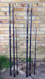 2 x TFG Banshee Beach Caster Rods