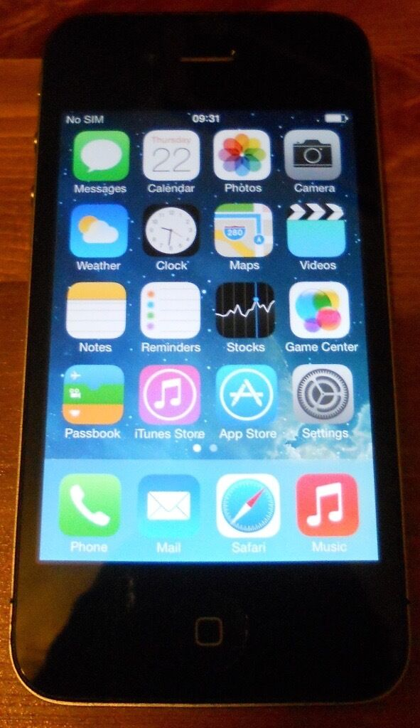 iPhone 4in Greenock, InverclydeGumtree - iPhone 4 16GB. Fully Functional. Home button takes a few tries sometimes hence the cheap price. Vodafone