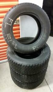 (H293) 4 Pneus Hiver - 4 Winter Tires 265-60-18 Bridgestone 6/32
