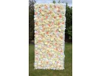ARTIFICIAL FLOWER WALL PANELS x 3