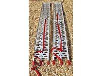 Folding aluminium loading ramps (7ft ) SOLD SOLD