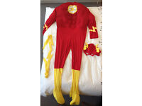 The Flash!! - Mens fancy dress costume (Medium)