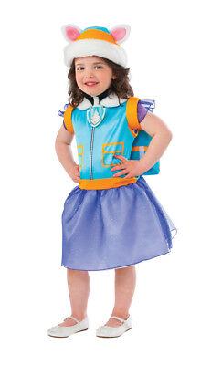Mädchen Kind & Kleinkinder Everest Paw Patrol Kostüm Hut & Welpe Rucksack ()