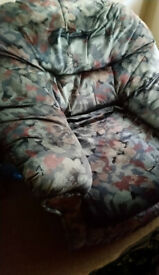 Two free matching and very comfy armchairs