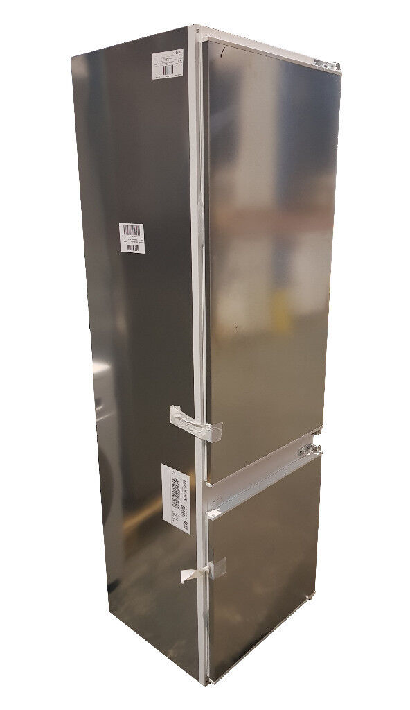 NEFF K8524X8GB Integrated 70/30 Fridge Freezer, Silver, A+