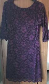 Size 12 lace party dress