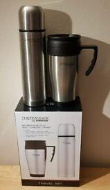 Thermos Thermocafe travel mug and flask
