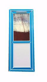 External PVC Doors- Half Glazed- 840mm x 2055mm