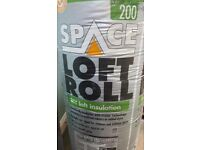 Knauf 200mm Super Top Up Loft Roll Insulation 5.61m2 - bought for £24.99