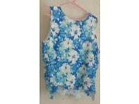 Select Women Ladies Crochet Top Size 14 Last Chance To Buy