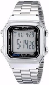 Casio Men's Illuminator Bracelet Watch Digital A178WA-1A