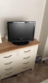 F&h 19 inch Tv with DVD & freeview, plus hdmi