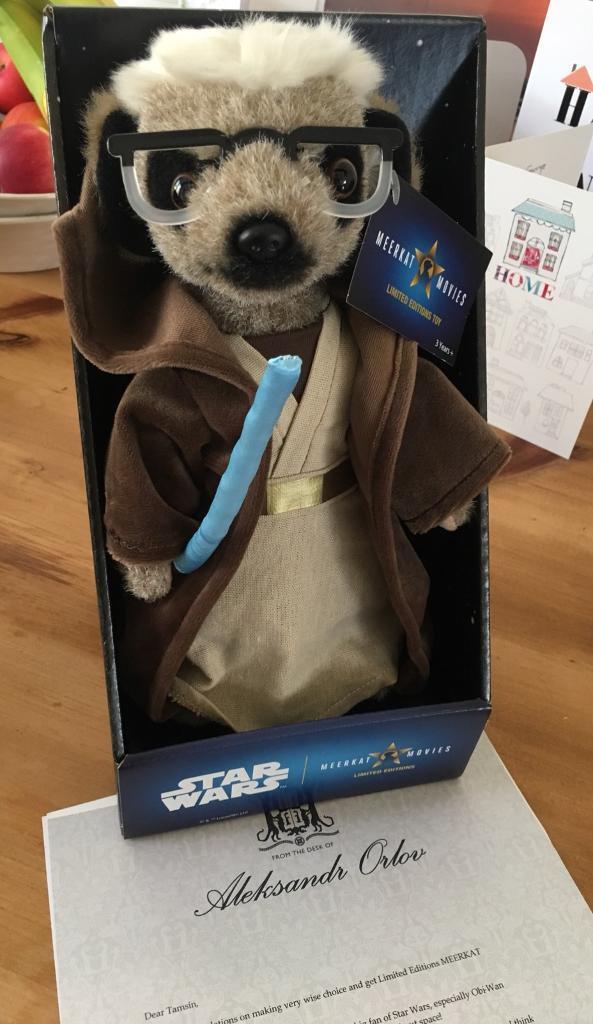 Meercat toy Sergi Star Wars toys