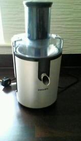 Philips whole fruit/veg juicer