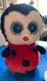 TY ladybird soft toy