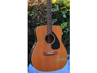 1970s Yamaha dreadnought acoustic, great vibe
